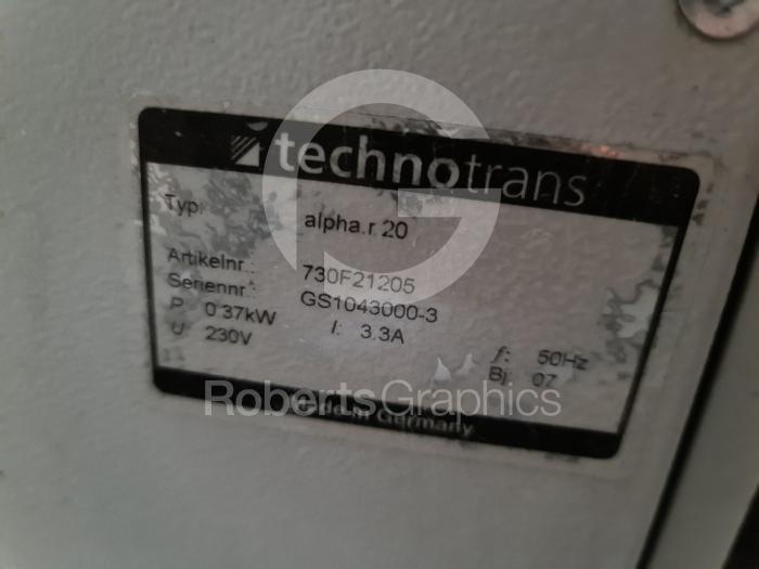 2007 Technotrans  2007  ALPHA R20 - Image 1